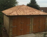 Full Hipped Roof with Cedar Shingles