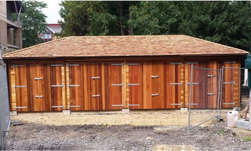 Set in the grounds of a Cambridge University, overlooking the backs, 