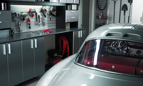 Internal view of how your garage could look.